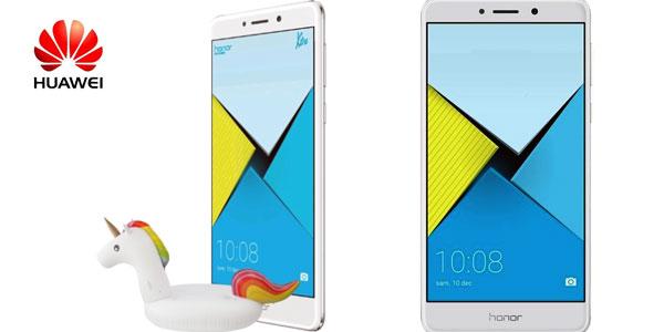 Smartphone libre Huawei Honor 6x Plata chollo en Amazon