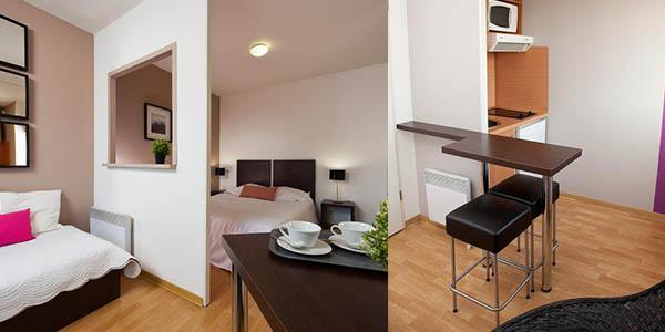 Ténéo Bordeaux apartamentos Burdeos capacidad para 4 personas