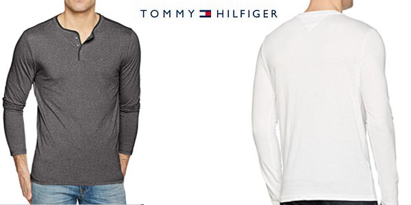 Tommy Hilfiger camiseta casual para hombre barata