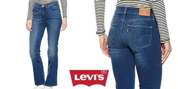 Chollo Pantalones Levi S 315 Shaping Boot Para Mujer Por Solo 39 99 Con Envio Gratis 58 Dto
