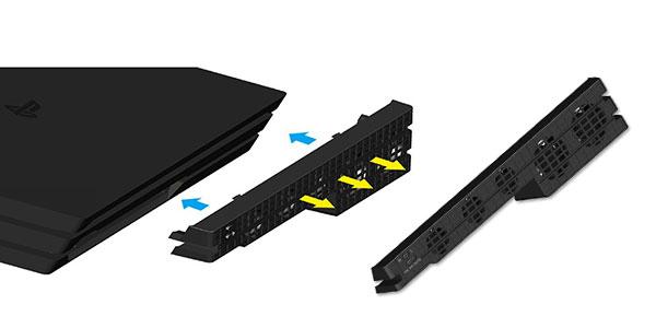 Ventilador QUMOX Super Cooling para PS4 PRO barato en Amazon