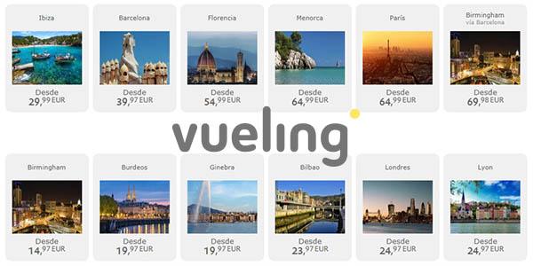 Vueling vuelos baratos destinos internacionales