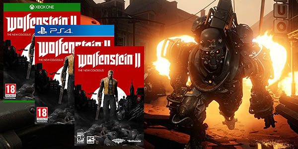 Wolfenstein II para PS4, Xbox One y Steam