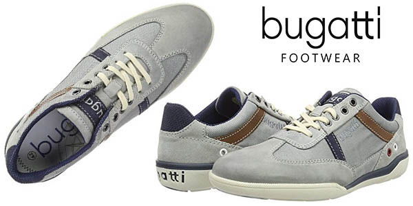zapatillas Bugatti K230716 diseño casual para hombre baratas