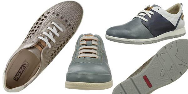 zapatillas caladas para mujer confortables Pikolinos