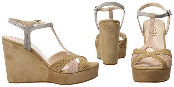 zapatos con plataforma y tiras de cuero Lodi Yola gran relación calidad-precio