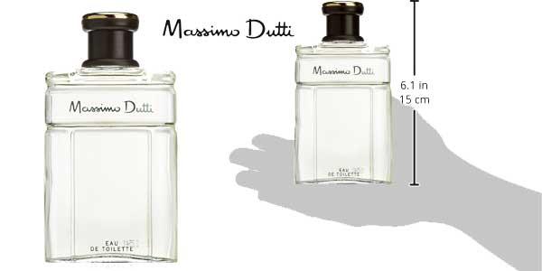 Agua de colonia para hombre Massimo Dutti 200 ml chollazo en Amazon