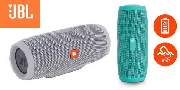 Altavoz Bluetooth JBL Charge 3 rebajado en Amazon