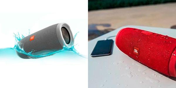 Altavoz Bluetooth HBL Charge 3 resistente al agua barato en Amazon