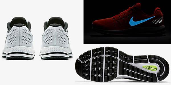 bambas de deporte Nike Air Zoom Vomero 12 transpirables para hombre