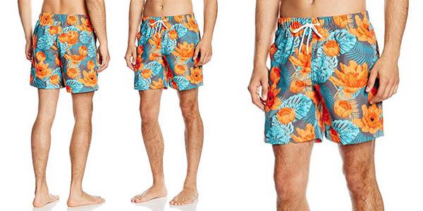 bañador Miami Beach Swimwear Flower para hombre barato