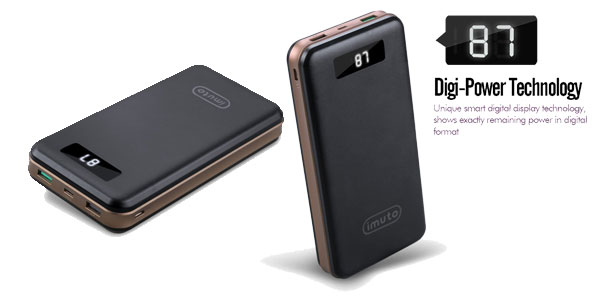Batería externa portátil Qualcomm Quick 3.0 chollo en Amazon
