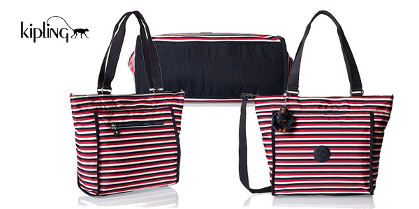 Bolso Kipling New Shopper S chollo en Amazon