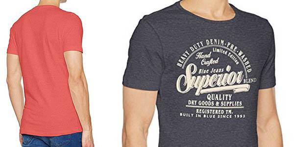 camiseta Blend en algodón de diseño casual con relación calidad-precio genial