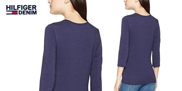 Camiseta Lizzy C-NK de Tommy Hilfiger para mujer chollazo en Amazon