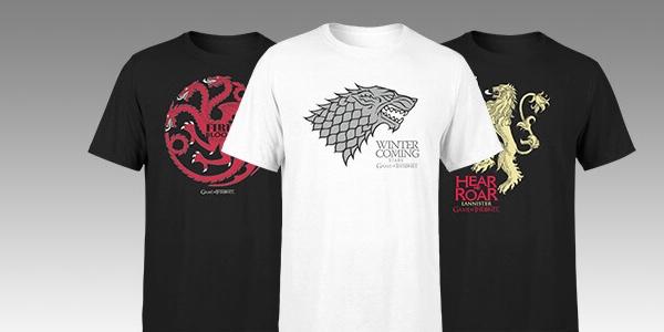 Camisetas Juego de tronos baratas