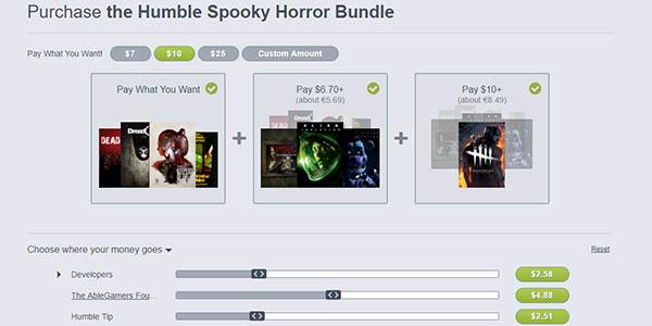 Comprar Humble Spooky Horror Bundle