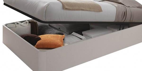 conjunto cama con somier canapé genial relación calidad-precio