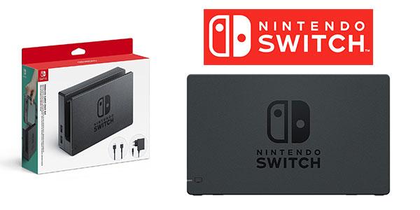 Dock Set con base Nintendo Switch y adaptadorAC y cable HDMI al mejor precio en Amazon