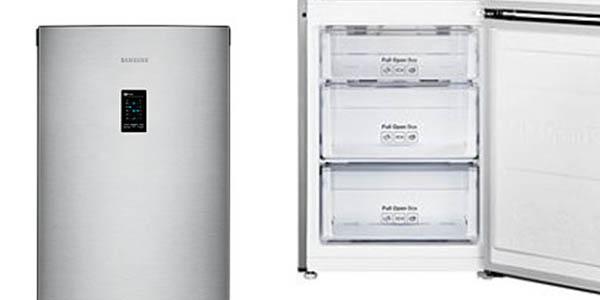 frigorífico con cajones y zonas independientes temperatura ajustable Samsung RB31HER2CSA
