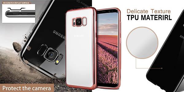 funda Ubegood de silicona para Samsung S8