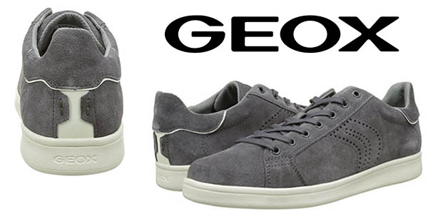 Geox U Warrens zapatillas estilo casual aterciopeladas chollo