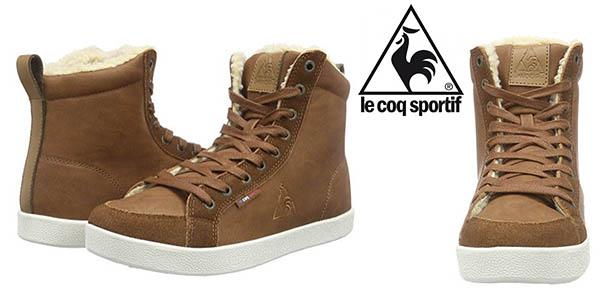 Le Coq Sportif Louisa Mid zapatillas bonites con borreguito interior para mujer baratas