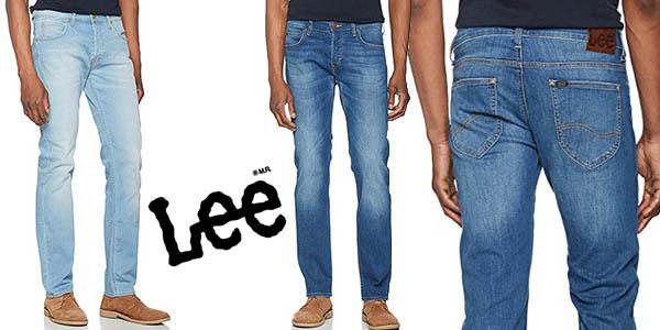 Lee Powell Jeans vaqueros para hombre baratos