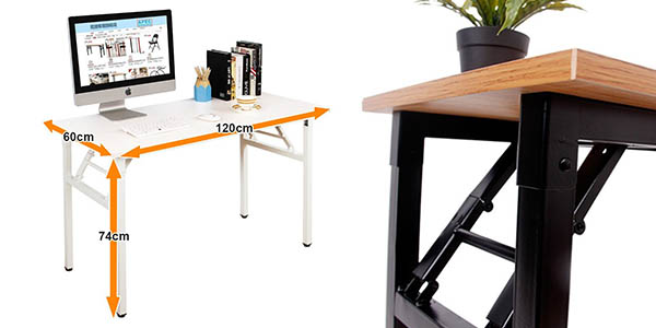 mesa de escritorio Need plegable chollo
