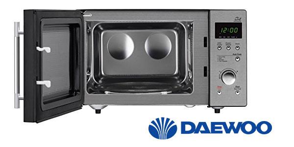 Microondas Daewoo KOG-837RS con grill de 23 litros barato en eBay