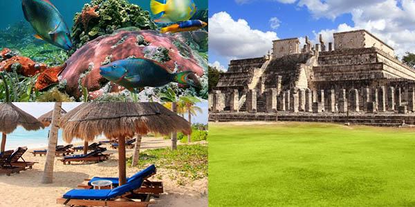 mini vacaciones Cancún presupuesto low cost