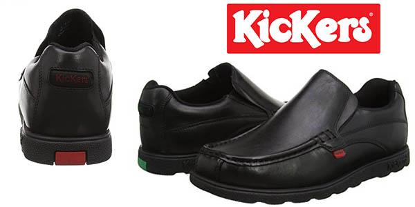 mocasines Kickers Fragma Slip para hombre baratos
