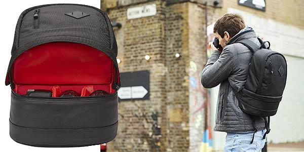 mochila Canon BP100 con compartimentos resistente y acolchada chollo