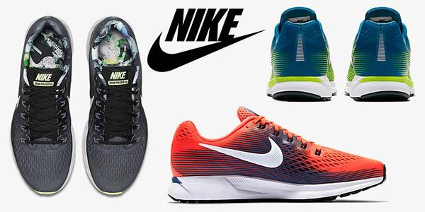 Chollo Zapatillas Nike Air Zoom Pegasus 34 por sólo 83,97 ...