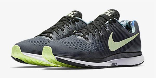 Nike air Zoom Pegasus 34 zapatillas transpirables y reflectantes chollo