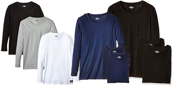 pack 3 camisetas de algodón Mick Morrison para hombre barato