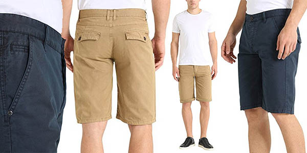 pantalones chinos cortos para hombre James Tyler baratos