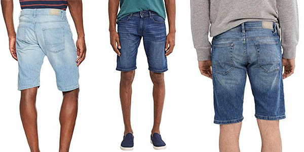 pantalones cortos tejanos Esprit gran relación calidad-precio