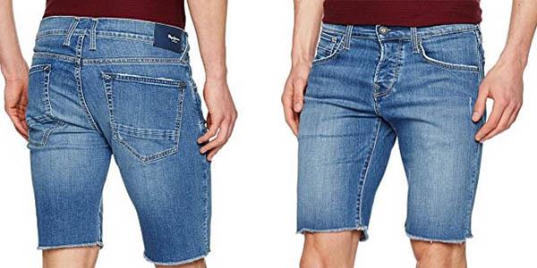 Pepe Jeans Chap Short pantalones cortos tejanos deshilachados