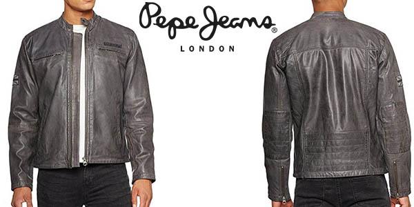 Pepe Jeans Lennon 17 cazadora de cuero para hombre barata