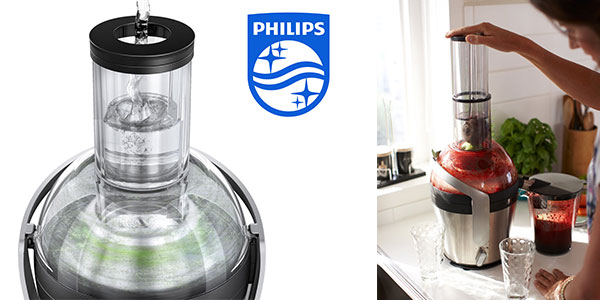 Licuadora Philips HR187170 de 1000 w con orificio XXL y antigoteo barata en Amazon