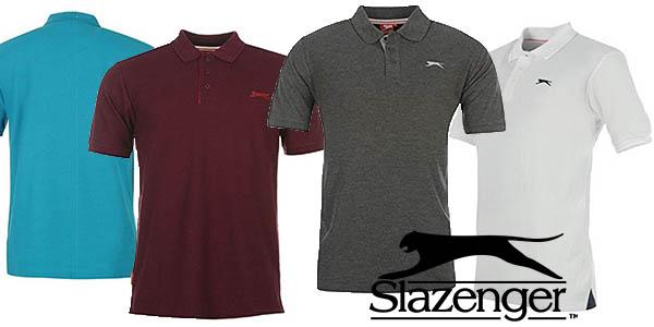 polo Slazenger para hombre en algodón barato