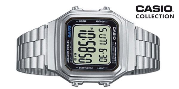 Reloj de estilo retro Casio Collection A178WEA-1AES rebajado