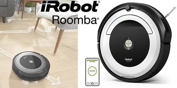 robot aspirador Roomba 691 conexión WiFi chollo