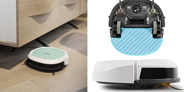 robot aspirador con sensores de objetos y escaleras fácil de utilizar