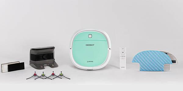robot inteligente aspirador Deebot Robotics mini con gran relación calidad-precio