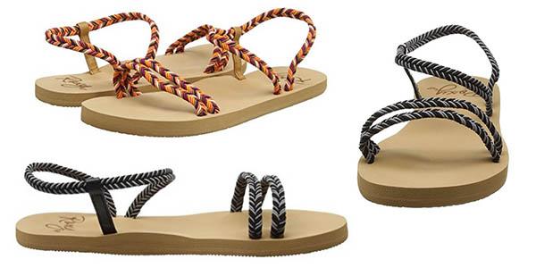 sandalias con suela de goma diseño original Luxy Luana