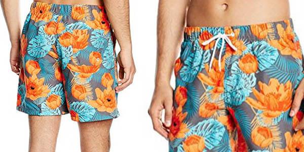 shorts bañador para hombre con estampado colorido genial relación calidad-precio
