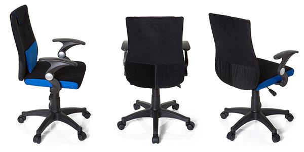 Silla oficina infantil HJH Office 670470 Kiddy Pro azul al mejor precio en Amazon
