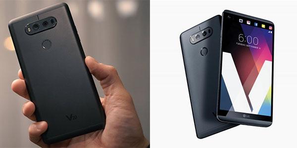 LG V20 Dual con batería extraíble en color negro barato